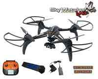 Unbekannt DF Models Quadrocopter SkyWatcher Race XL Pro mit Gimbal RTF & FPV