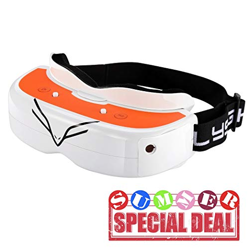 Flysight FPV Goggles with DVR HDMI Detachable Diversity Module 5.8G RC Video Drone Racing FPV Goggles Falcon FG02 40CH Wireless Video Receiver for DJI Phantom Inspire Airplane Flying Wing